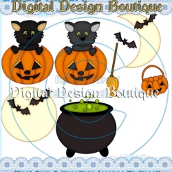 Download - Bewitching Halloween Pumpkins