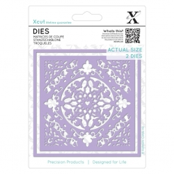 Xcut Dies - Ornate Tile 2pcs (XCU 503387)