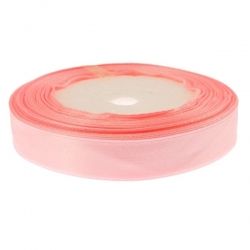 15mm Wide Satin Ribbon - Pink (25 yards)