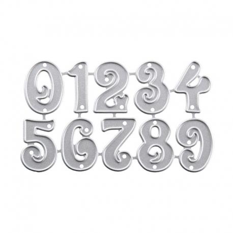 Printable Heaven dies - Small Numbers (10pcs)