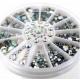 Clear Gemstone Wheel (600pcs)