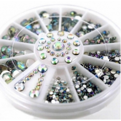 Clear Gemstone Wheel (600pcs)