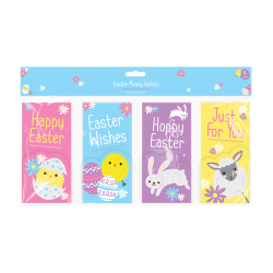 Easter Money Wallets - 4 Pack (EAS1890)