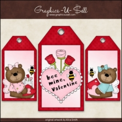 Download - Tags - Bee My Valentine