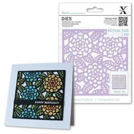 Dies (1pcs) - Floral Tile (XCU 504090)