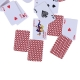 Miniature 1/12 Scale Die-cut Playing Cards (57pcs)