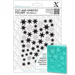 Cut & Emboss Folder - Let It Snow (XCU 503940)