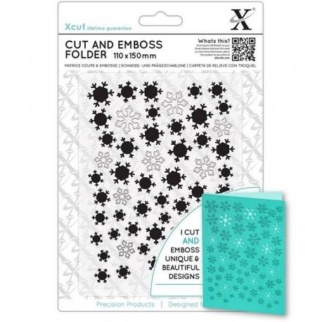 Cut & Emboss Folder - Let It Snow (XCU 503940)