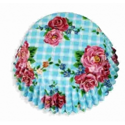 Floral Cake Cases 100 - Blue Rose (AM7720)