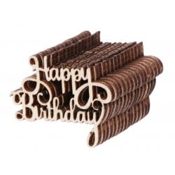 Wooden Happy Birthday (15pcs)