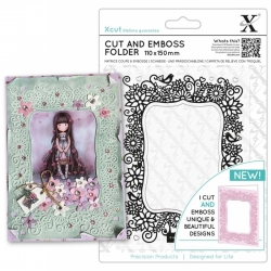Cut & Emboss Folder - Floral Parenthesis (XCU 503819)
