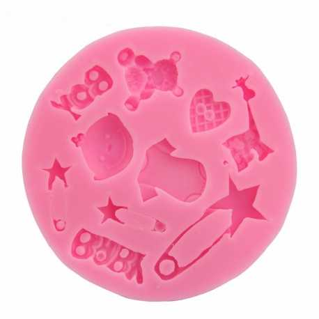 Small Silicone Mould - Baby Boy
