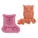Small Silicone Mould - Owl