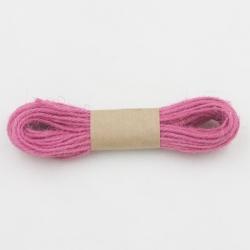 Jute Twine 10m - Dark Pink