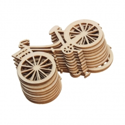 Wooden Bikes, small (10pcs)
