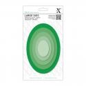 Xcut Large Dies - Nesting Ovals 5pcs (XCU 503410)