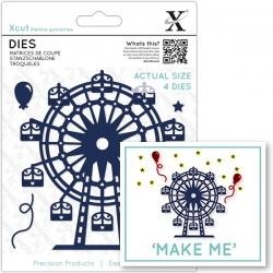 Xcut Dies - Ferris Wheel 4pcs (XCU 503344)