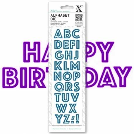 Alphabet dies - Outline (XCU 504088)