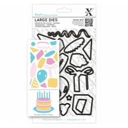 Xcut Large Dies - Birthday Party 19pcs (XCU 503920)
