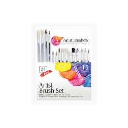 Artist Paint Brush Set15 Pack (STA0342)