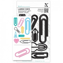 Large Dies (10pcs) - Paper Clips (XCU 503239)