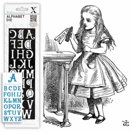 Alphabet dies - Alice 1pc (XCU 503081)