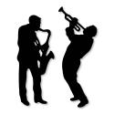 Printable Heaven die - Jazz Duo (2pcs)