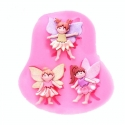Small Silicone Mould - Fairies
