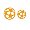 Printable Heaven die - Footballs (2pcs)