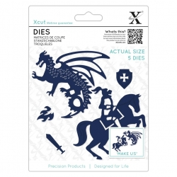 Dies - Knight & Dragon 5pcs (XCU 503343)