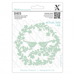 Dies - Bird Wreath 1pc (XCU 503445)