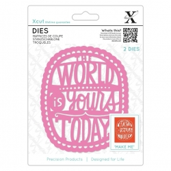 Dies - The World Is Yours 2pcs (XCU 504078)