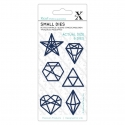Small Dies - Geometric Shapes 6pcs (XCU 504115)