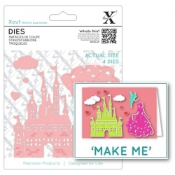 Xcut Dies - Princess & Castle 6pcs (XCU 503342)