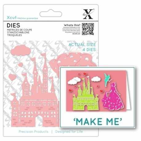 Dies - Princess & Castle 6pcs (XCU 503342)