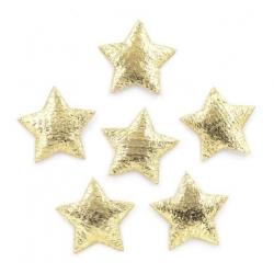 Padded Stars Gold (60pcs)