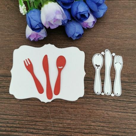 Printable Heaven die - Cutlery (3pcs)