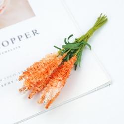 Mini Heather - Orange (10 flowers)