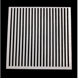 Medium Reusable Stencil - Stripes (1pc)