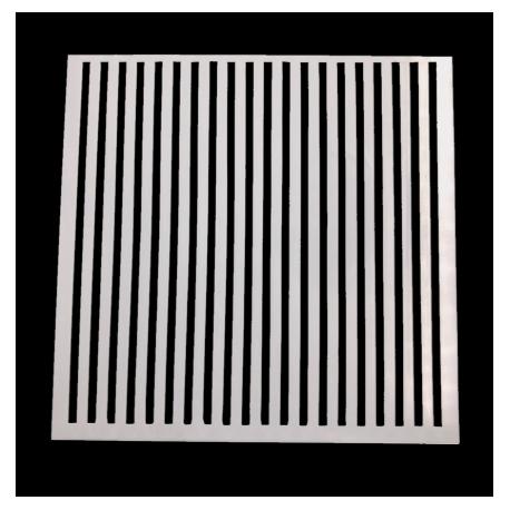Medium Reusable Stencil - Stripes (1pc)