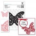 Xcut Dies - Floral Filigree Butterfly 1pc (XCU 503218)
