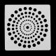 13 x 13cm Reusable Stencil - Dot Mandala (1pc)