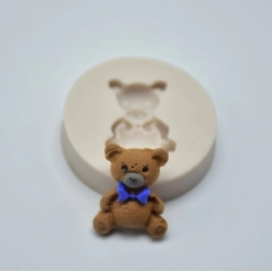 Small Silicone Mould - Teddy (1pc)