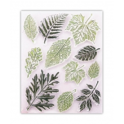 Clear Stamp set - Leaves (11pcs)