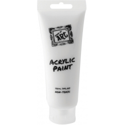 Acrylic Paint 120ml - White (T6722)