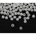 4mm Round Pearl Beads - Cream (200 pack)