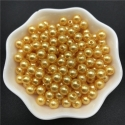 4mm Round Pearl Beads - Pearl Gold (200 pack)