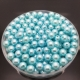 4mm Round Pearl Beads - Pale Blue (200 pack)
