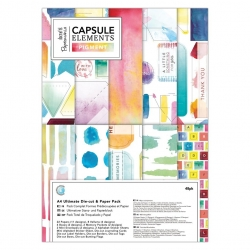 A4 Ultimate Die-cut & Paper Pack (48pk) - Elements Pigment (PMA