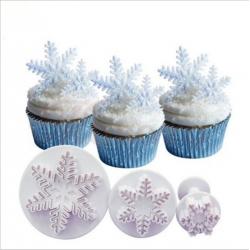 Plunger Cutter set - Snowflakes 2 (3pcs)